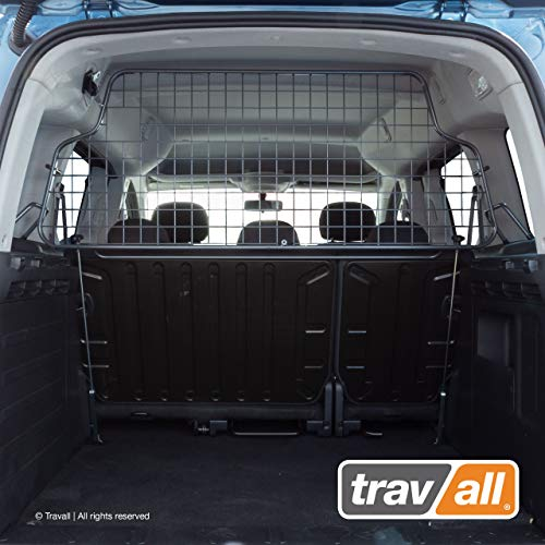 Travall Guard Hundegitter Kompatibel Mit Citroen Berlingo Multispace & Peugeot Partner Tepee 5 Sitzen 2008-18 TDG1226 - Maßgeschneidertes Trenngitter