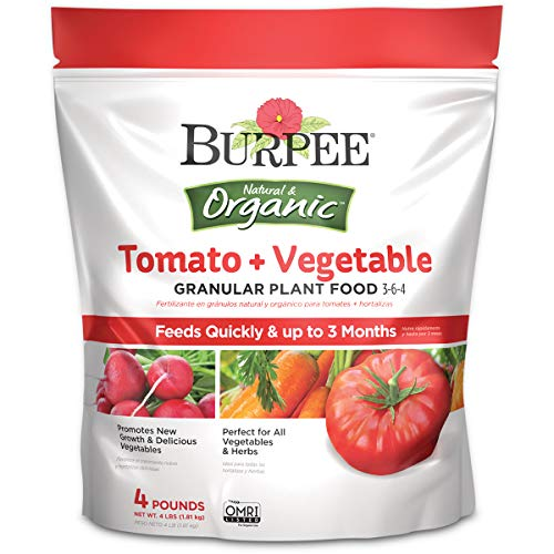 Organic Tomato and Vegetable Granular Plant Food by Burpee