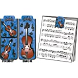 Gift House Magnet Bookmark Violin