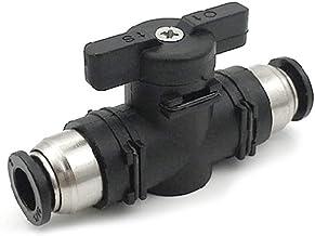 ATATMOUNT 8mm Pneumatische Push Quick Joint Connector BUC Handklep Schakelaar Plastic Adapter Luchtlijn Buis Fittings