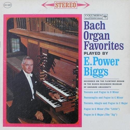 E. Power Biggs: Bach Organ Favorites [Vinyl LP] [Stereo]