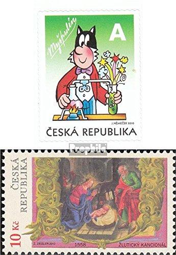 république tchèque mer.-no.: 659,663 (complète.Edition.) 2010 Gueule, Noël (Timbres pour Les collectionneurs) Noël