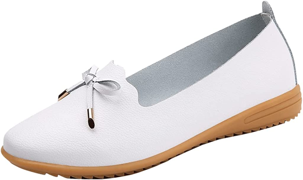 MABEIBEI Loafers for latest Excellence Women Comfortable Dress Shoes on Casua Slip