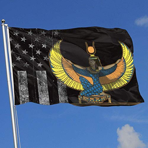 dfjdfjdjf Flagge/Fahne Outdoor Flags Egyptian Goddess Isis 3X5 Ft Flag for Indoor Outdoor Garden Decoration Banner