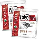 Julian Bakery Paleo Wraps (Traditional) USDA Organic (Gluten Free & Low Carb) (2 Pack) (14 Individual Wraps)