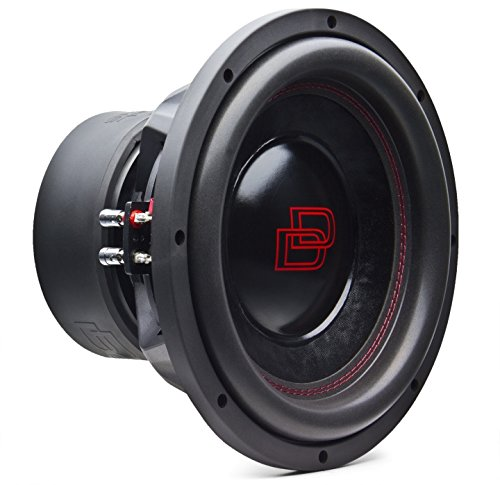 Subwoofer DD 610 D4 25cm 2x4Ω 1800 Watt sub auto spl Digital Designs Red Line 25 digital design dd audio doppia bobina da 4 ohm