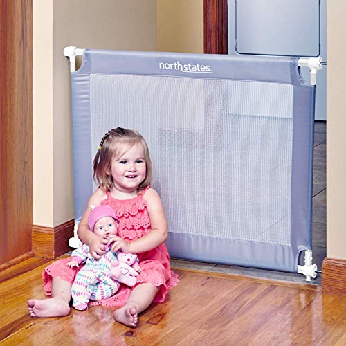 Toddleroo by North States wide Portable Traveler Baby Gate