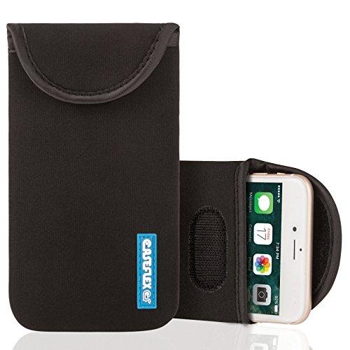 Caseflex Yousave Accessories Kompatibel Für Schutzhülle aus Neopren Kompatibel Für iPhone 5, Schwarz