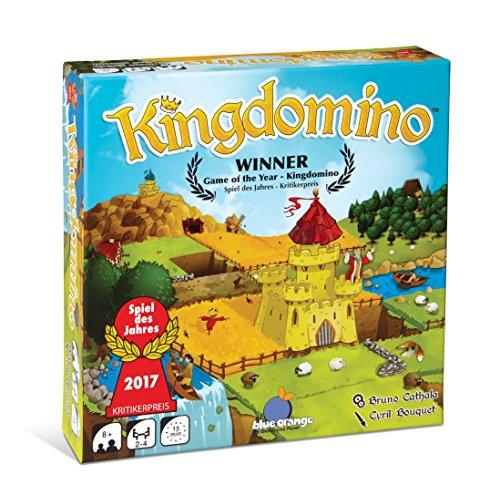 Blue Orange Games Kingdomino Award Winning Family Strategy Board Game (Toy)