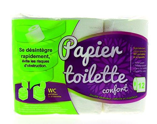Midland 500511 Papier Toilette - Pack de 12