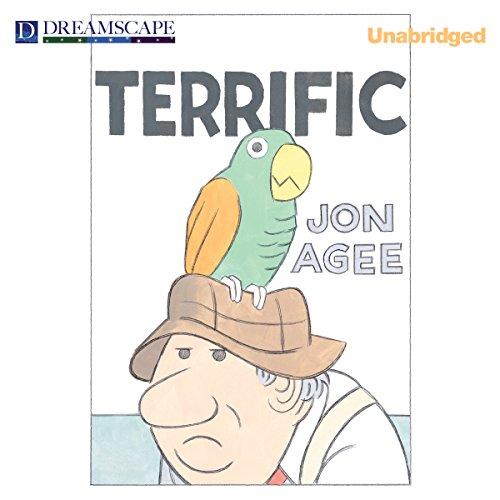 Terrific audiobook cover art