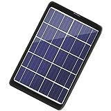 Panel Solar Placa De Carga USB Solar De Silicio Monocristalino Paneles Solares...