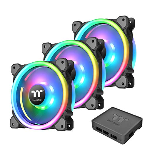 Thermaltake Riing Trio Plus 12 RGB Radiator Fan Tt Premium Edition – 3pack – fn1229 CL – F072 – pl12sw – A