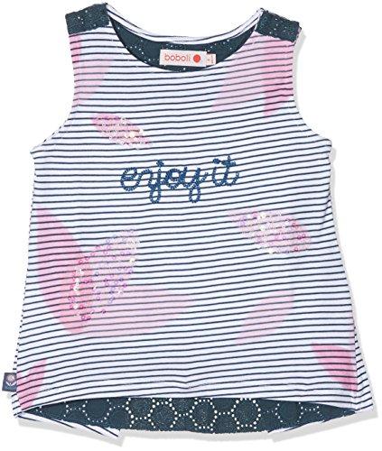 Boboli Boboli Baby-Mädchen 205108 Top, Mehrfarbig (Listado Bicolor 9775), 80