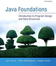 Java Foundations (3rd Edition)