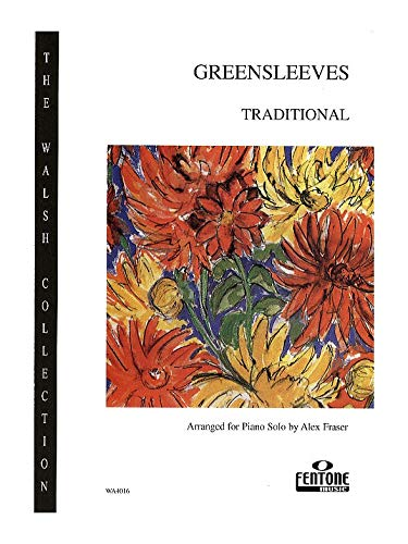 Greensleeves: for piano
