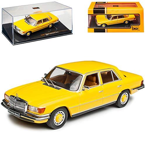 alles-meine.de GmbH Mercedes-Benz S-Klasse W116 450 SEL Limousine Gelb 1972-1980 1/43 Ixo Modell Auto