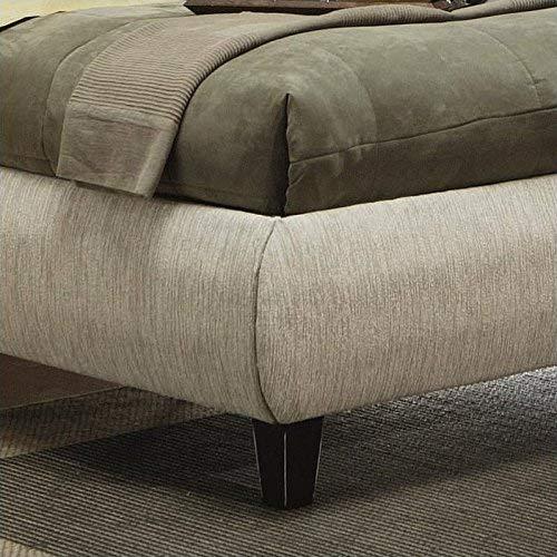 Coaster Fine Furniture 300369ke Bed, Eastern King, Beige Fabric