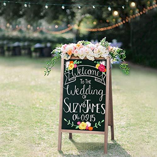 4888fd2a630 Chalkboard Wedding Sign  Amazon.com
