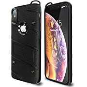 Otipacase iPhone X Case | iPhone Xs Case | Military Grade 15ft. Drop Tested Protective Case with Kickstand,Shockproof,Dual Layer Heavy Duty, Compatible with Apple iPhone X | iPhone Xs - Black