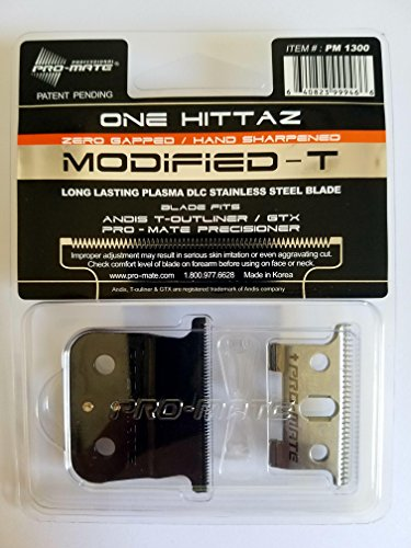 Andis T-Outliner & GTX Replacement One Hittaz Zero Gap Modified T...