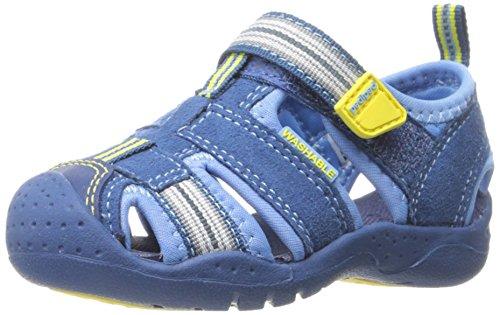 Pediped pediped Unisex Kinder Sahara Sandalen mit geschlossenem Zehenbereich, Himmelblau, 20