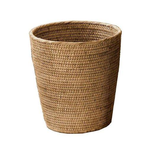 Basket PK Papierkorb Rattan, rattan dunkel H 33cm Ø 30cm