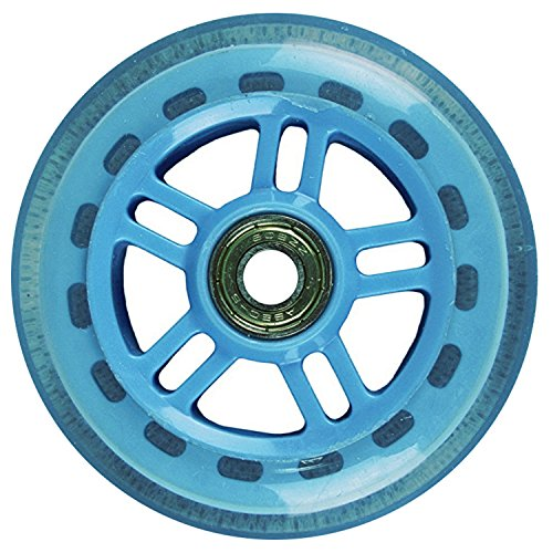 JD Bug Original Street 100mm Wheel w. Bearings - Sky Blue by JD Bug
