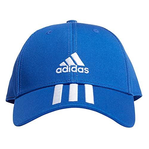 adidas GS2080 Bball 3S cap CT Berretto Unisex - Adulto Bold Blue/White OSFW