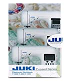 Juki Exceed Electronic Workbook CD F600 F400 F300 Sewing Machines