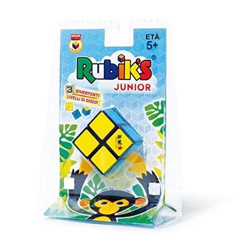 The Box- Macdue Rubik 2 x 2 Junior Cubo mágico Muelle Pasatiempo Juego Niño 304, Multicolor, 873211
