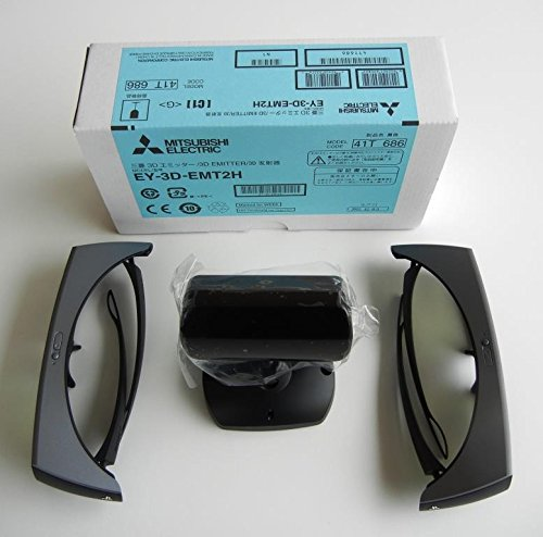 Purchase 3D Glasses (2) and 5 choices of 3D kits--you choose--One has EY-3D-EMT2H Emitter (only our ...