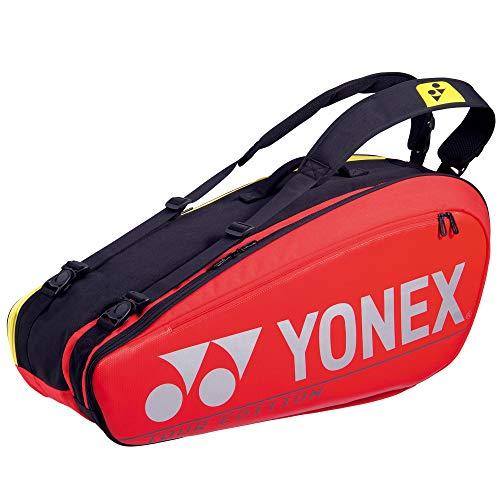 YONEX Pro 6 Racquet Tennis Bag (Red)