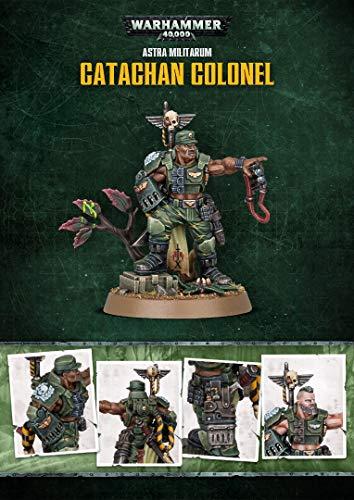 Games Workshop Astra Militarum Catachan Colonel Promo Edizione Limitata