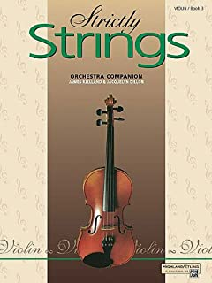 Strictly Strings - Orchestra Companion: Violin (Book 3)