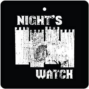 Night s Watch Car Air Freshener