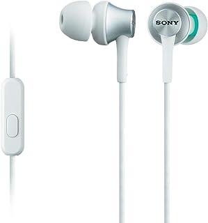 Sony MDR EX450AP   Mobile Headsets (Verkabelt, im Ohr, Binaural, Im Ohr, 5 25000 Hz), Weiß