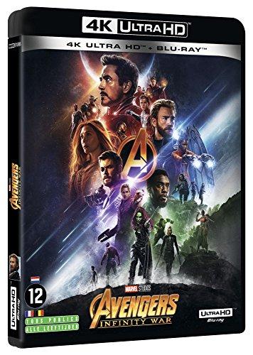 4K Avengers Infinity War +2D