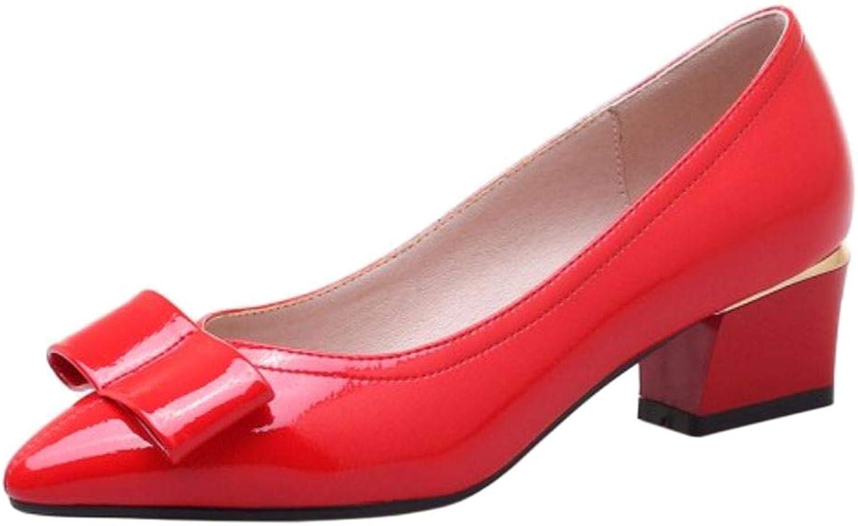 Melady Women Sweet Pumps shoes Lace Up shoes