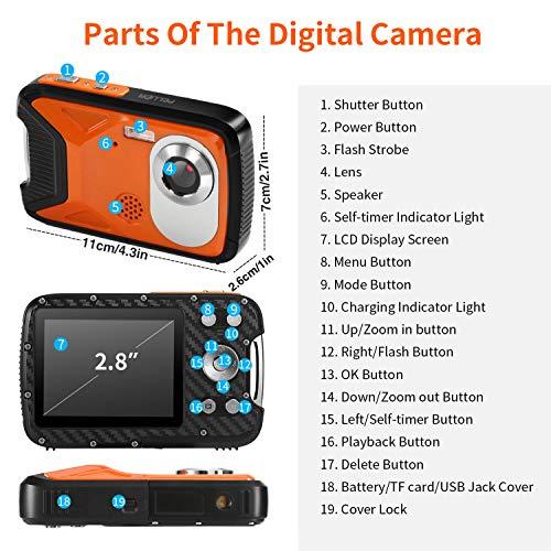 PELLOR Kinder Digitalkamera, 2,8