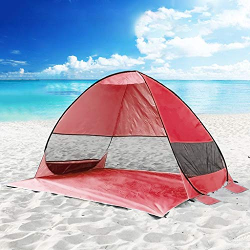Beach Tent, Anti UV Camping Fishing Heave Up Outdoor Tent Beach Hiking Shade Shelter Camping Tent
