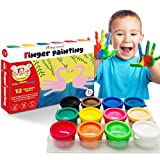 Finger Paint for Toddlers Non-To...