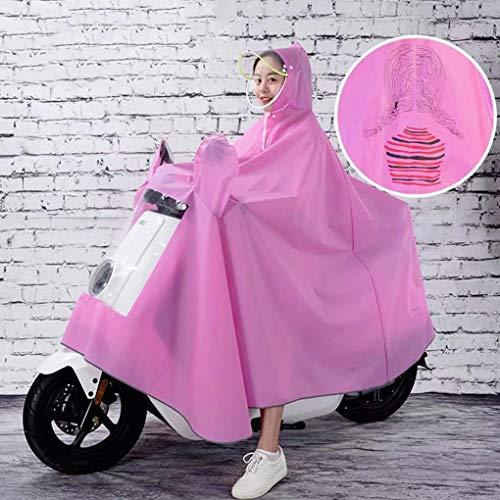 JYTB Moto Impermeable Gran Capa de Lluvia Coat-JXSD Mobility Scooter Impermeable de Motocicleta Poncho de Lluvia Rain Mac Rainwear para Motociclismo 3XL / 10XL