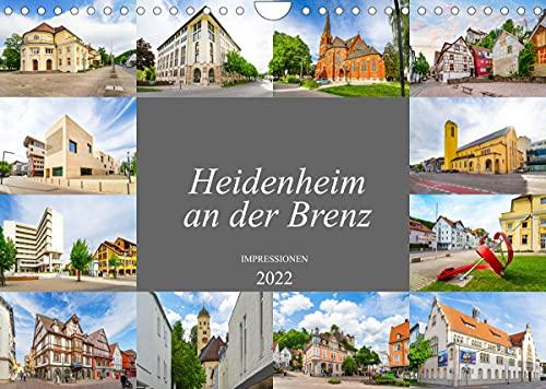 Heidenheim an der Brenz Impressionen (Wandkalender 2022 DIN A4 quer)