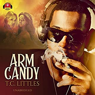 Arm Candy audiobook cover art