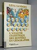 Analyse statistique des données en géographie