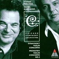 Stravinsky: Violin Concerto / Prokofiev: Violin Concerto No. 2 by Perlman