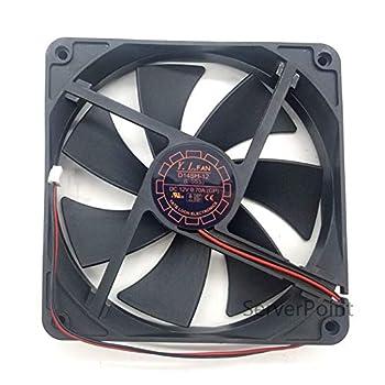 Fan cooling NEW For Yate Loon Fan D14SH-12 DC 12V 0.70A 140x140x25mm 2-Wire Server Cooler Fan