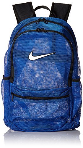 Nike Brasilla 7 Mesh Backpack (MISC, Royal Blue/Black/White)