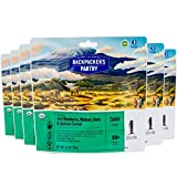 Backpacker's Pantry Organic Hot Blueberry Walnut Oat & Quinoa, 1 Serving Per Pouch (6 Count), Freeze Dried Food, 10 Grams of Protein, Vegan, Dairy Free